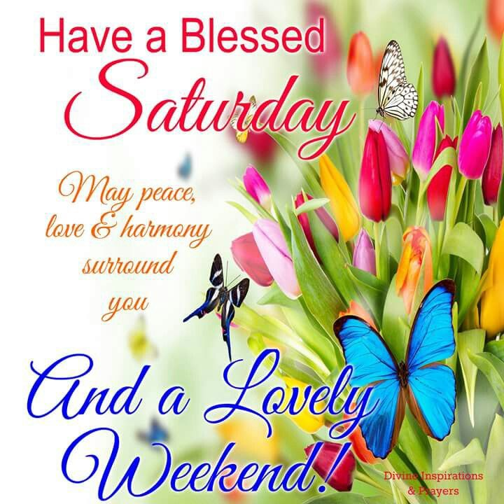 have a blessed saturday and a lovely weekend pictures photos and