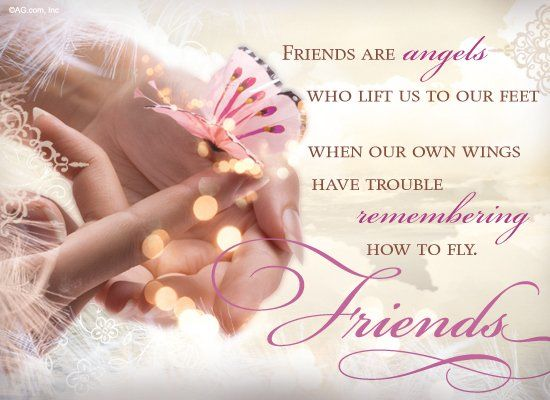 Friends Are Angels.... Pictures, Photos, and Images for ...