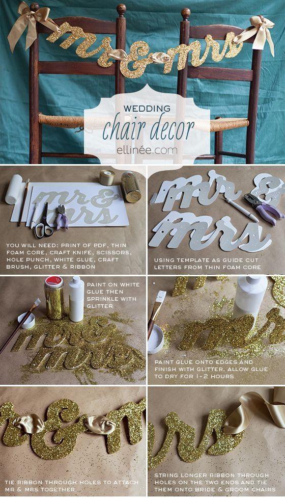 Chair Hochzeitsdekor