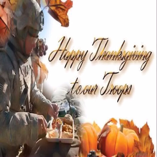 Image result for photos of thanksgiving to troops