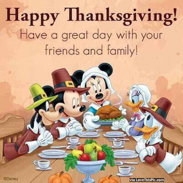 Happy Holidays From My Family To Yours Quotes: Happy Thanksgiving Have A Great Day With Your Family