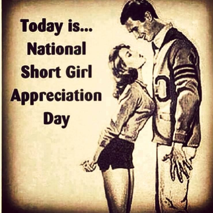 Today IsNational Short Girl Appreciation Day Pictures, Photos
