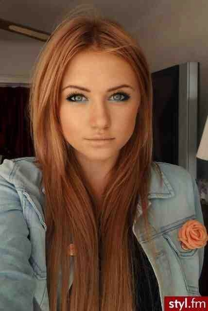 Light Brown Hair With Red Lowlights And Blonde Highlights