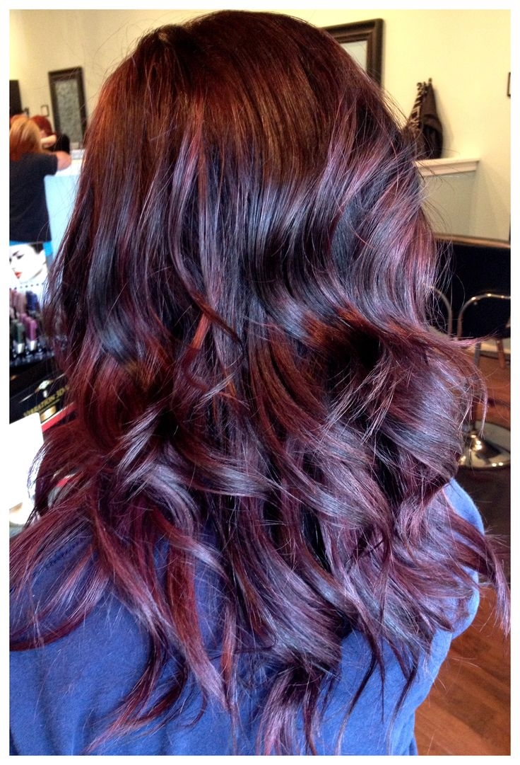 Red Violet Hair Pictures, Photos, and Images for Facebook, Tumblr ...