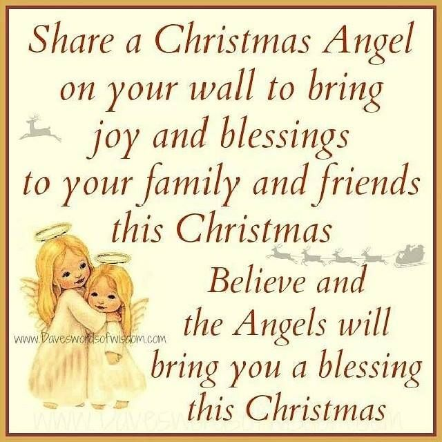 share a christmas angel on your wall to bring joy and blessings to your family and friends this christmas pictures photos and images for facebook tumblr - A Christmas Angel