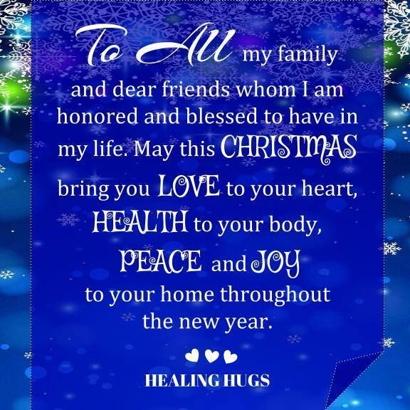 May this christmas bring you love in your heart health to for Enjoy your new home images