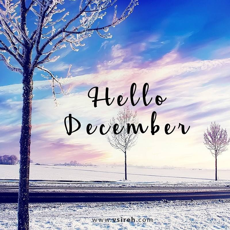 Hello December Beautiful Winter Quote Pictures, Photos