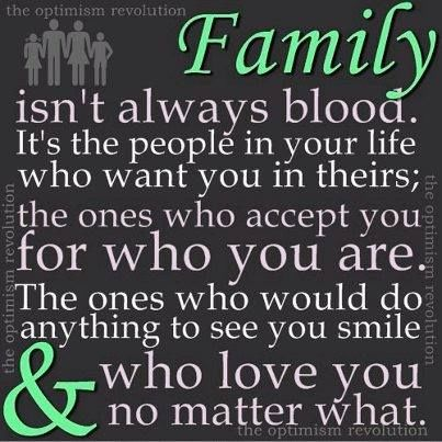 Family Isn\'t Always Blood Pictures, Photos, and Images for ...