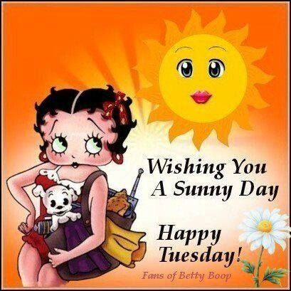 Wishing You A Sunny Day, Happy Tuesday!