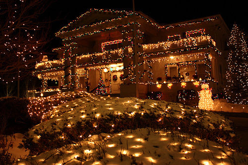 Beautiful Decorated Christmas House Pictures Photos And