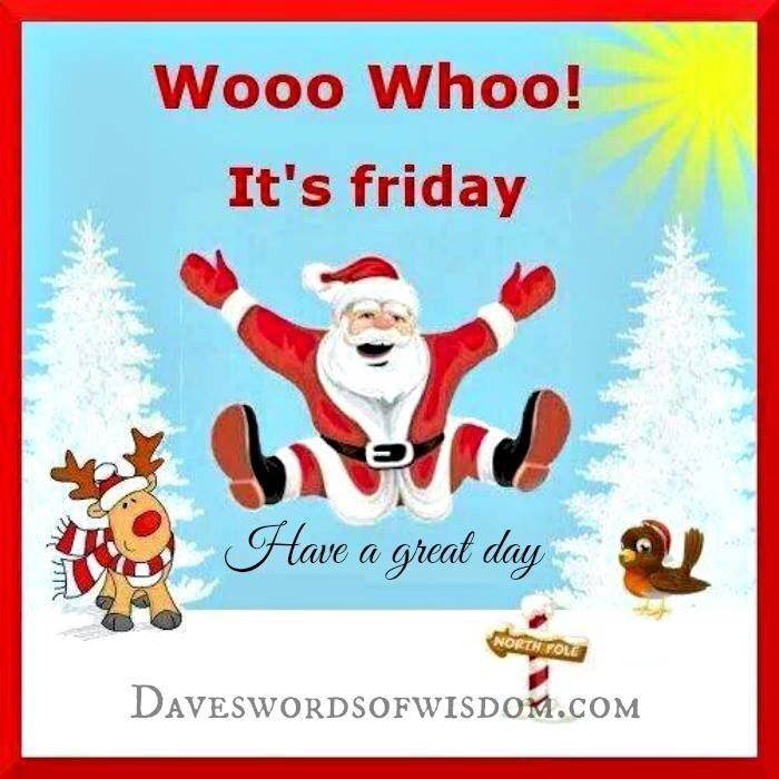 Friday Christmas Quotes: Woo Hoo It's Friday Pictures, Photos, And Images For