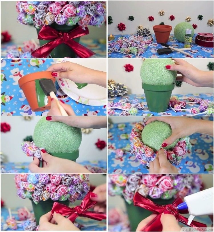 Diy Lollipop Bouquet Step By Pictures Photos And Images For