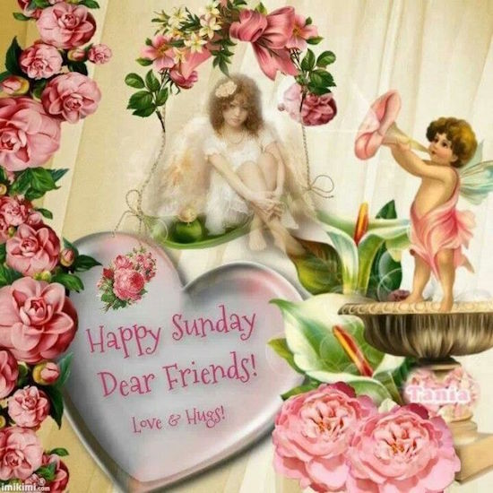 Happy Sunday Dear Friends Pictures, Photos, And Images For