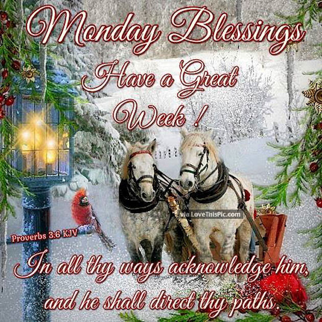 Good Morning Sunday Winter : Winter monday blessings pictures photos and images for