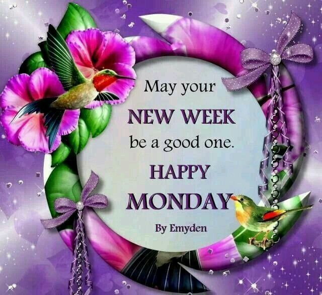 May Your New Week Be A Good One, Happy Monday! Pictures ...