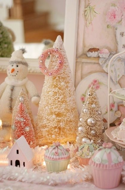 cute pink christmas decorations - Pink Christmas Decorations