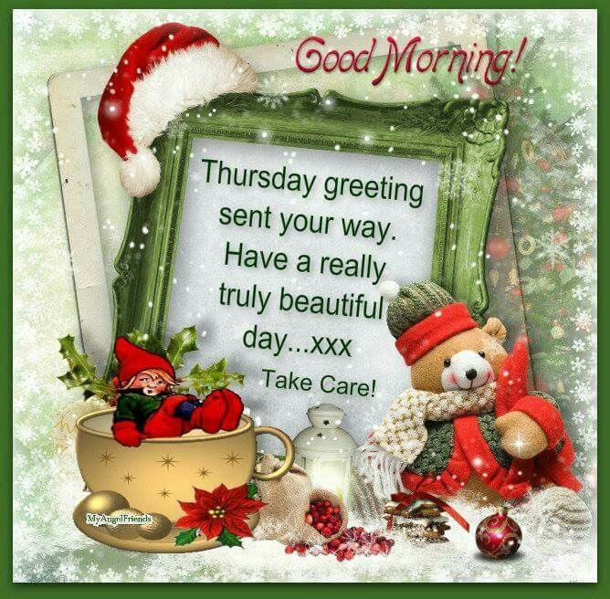 Good morning thursday greeting sent your way have a really truly good morning thursday greeting sent your way have a really truly beautiful day m4hsunfo