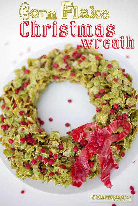 Corn Flake Christmas Wreath Recipe Pictures, Photos, and Images ...