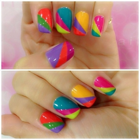 Candy Colored Nails Pictures, Photos, and Images for ...