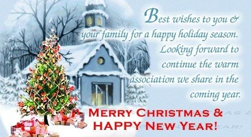 Best Christmas Cards Messages Quotes Wishes Images: Best Wishes To You And Your Family This Holiday Season