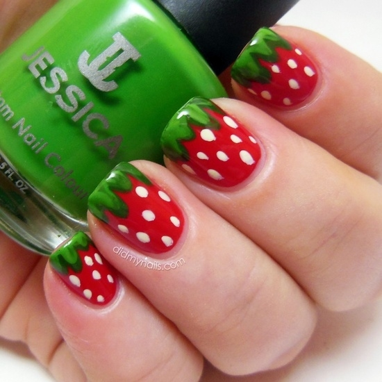 Teenage Nail Art: Watermelon Nail Art Pictures, Photos, And Images For