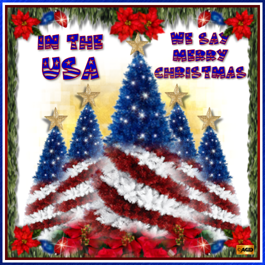 in the usa we say merry christmas