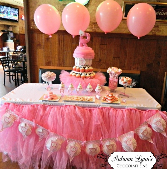 Pink Baby Sprinkle Dessert Table Pictures Photos And