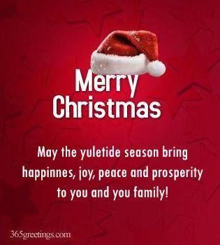 Merry Christmas May The Yuletide Season Brings Happiness