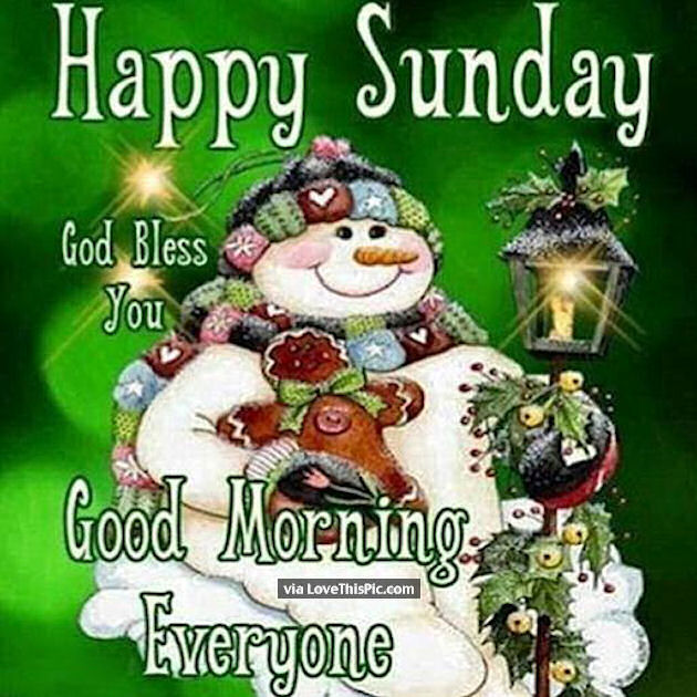 Good Morning Sunday Winter : Happy sunday good morning everyone pictures photos and