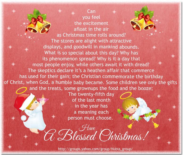 have a blessed christmas - Have A Blessed Christmas