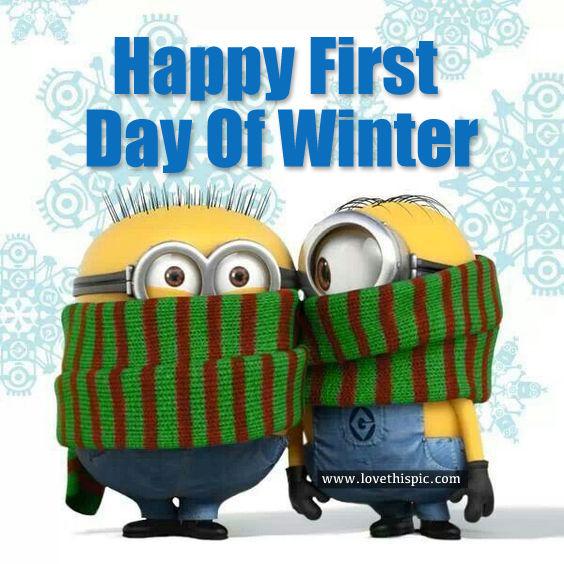 Happy winter day