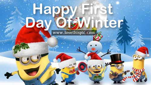 Winter day of First pictures exclusive photo