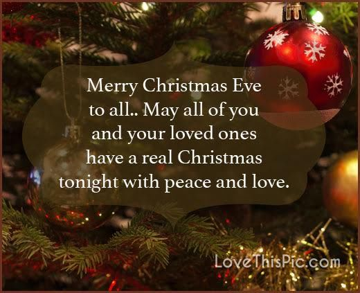 Merry Christmas Eve Images.Merry Christmas Eve To All Pictures Photos And Images For