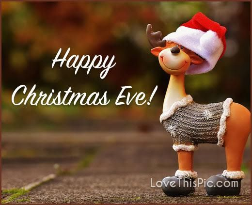Happy Christmas Eve Cute Quote Pictures, Photos, and Images for Facebook, Tum...