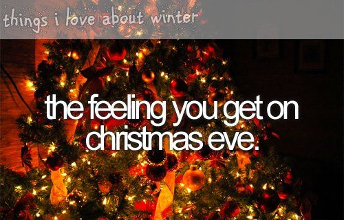 The Feeling You Get On Christmas Eve Pictures, Photos, And