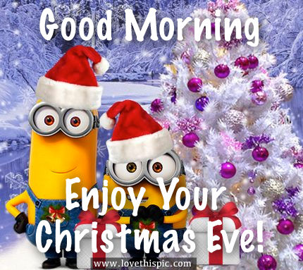Good Morning, Enjoy Your Christmas Eve! Pictures, Photos, and ...