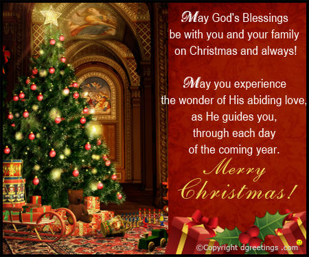 May God's Blessings Be With You And Your Family