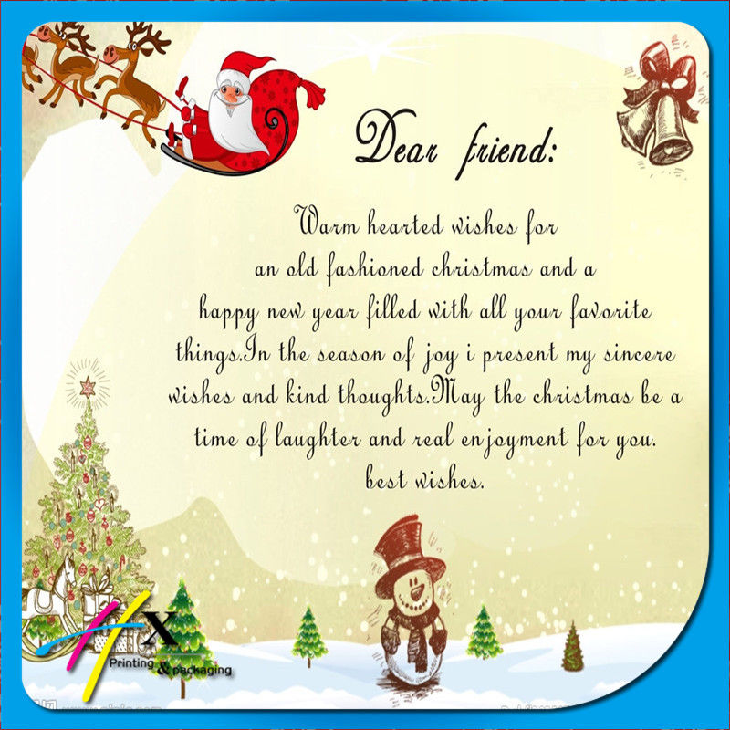 Dear Friend, Warm Wishes For An Old Fashion Christmas Pictures ...