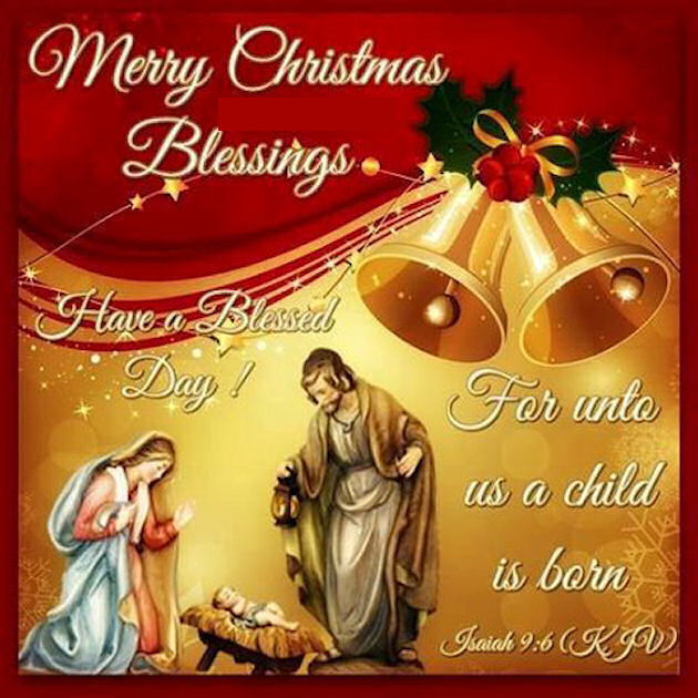 Merry Christmas Blessings Religious Quote Pictures, Photos, and ...