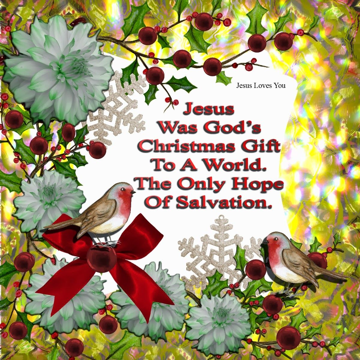 Jesus Was God's Christmas Gift To The World Pictures, Photos, and Images for Facebook, Tumblr ...