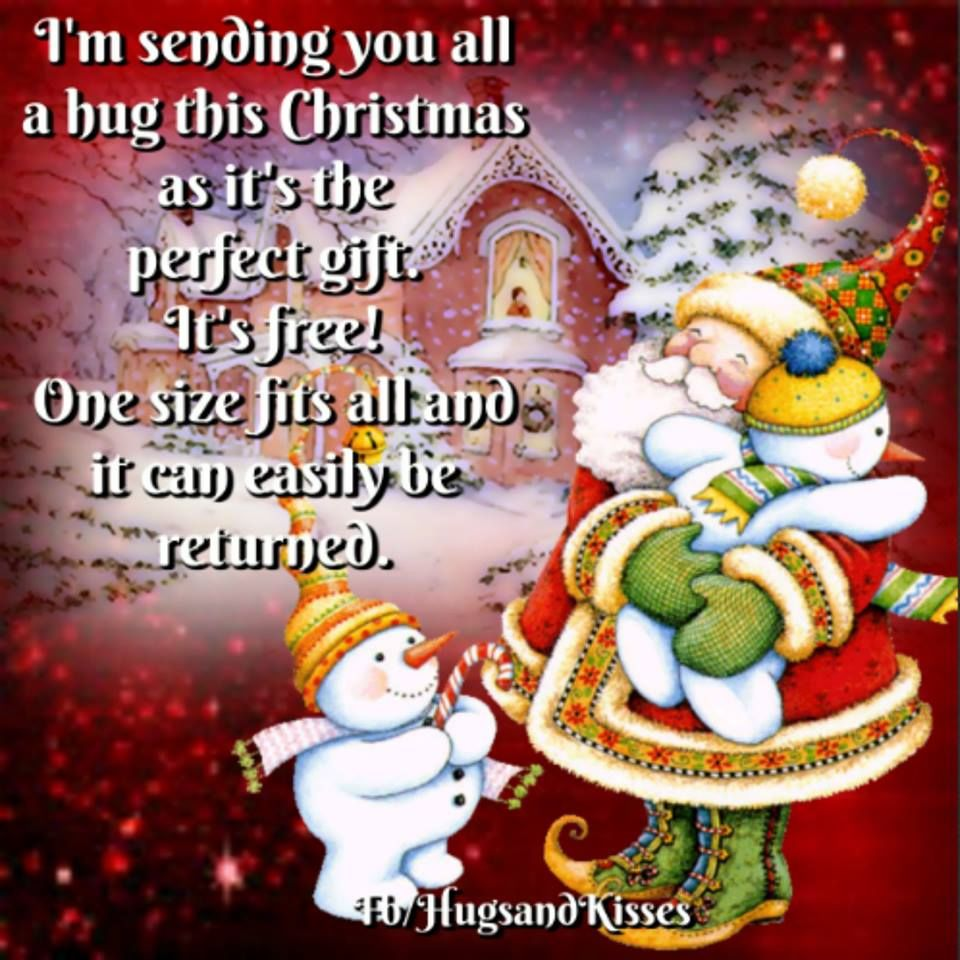 Sending You All A Christmas Hug Pictures, Photos, and Images for ...