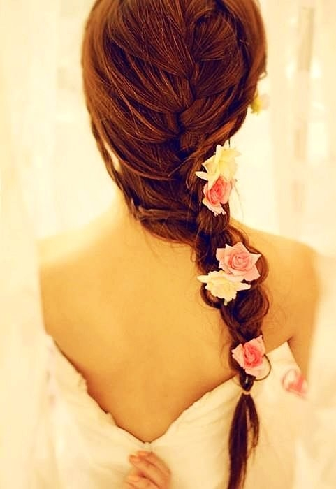 Rose Clips for Hair
