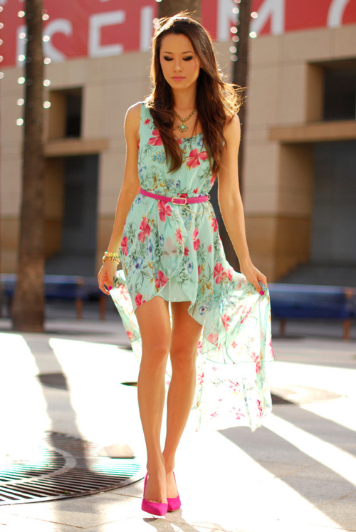 Floral High-Low Dress Pictures, Photos, and Images for Facebook ...