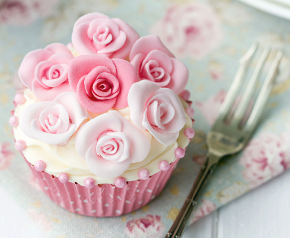 Pink Rose Cupcake Pictures, Photos, and Images for ...