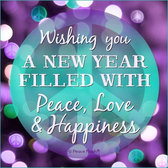 wishing you a new year filled with peace love happiness pictures