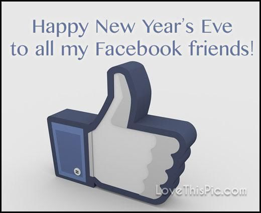 happy new years eve facebook friends