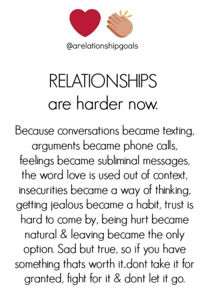 why are relationships hard