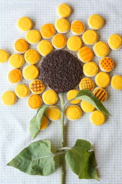 Giant Sunflower Cookie Pictures Photos And Images For