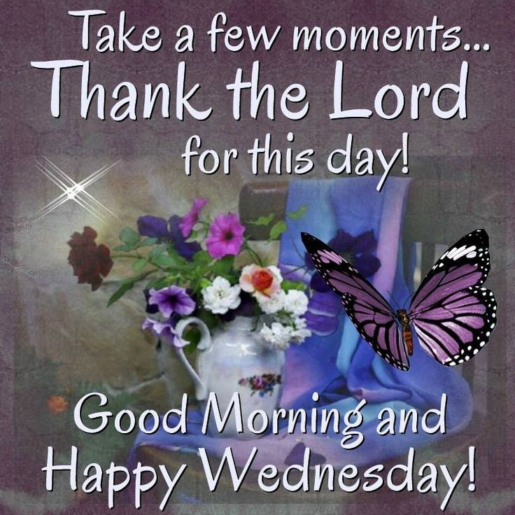 May Your Wednesday Be A Garden Of Wonderful Blessings ...