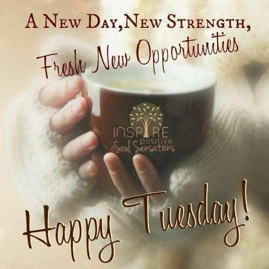 New Day, New Strength, Fresh New Opportunities. Happy ...